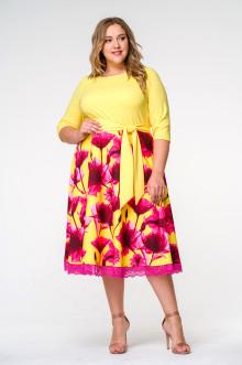 Платье 1412707 ЛаТэ (Мультиколор)