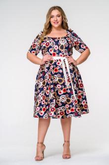 Платье 1415102 ЛаТэ (Мультиколор)