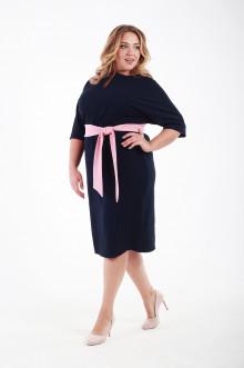 Платье 116508 ЛаТэ (Темно-синий)