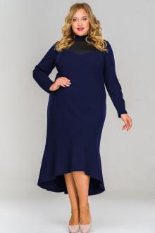 Платье 1516602 ЛаТэ (Темно-синий)