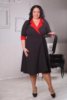 Платье 043301 ЛаТэ (Черный)