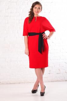 Платье 076504 ЛаТэ (Красный)