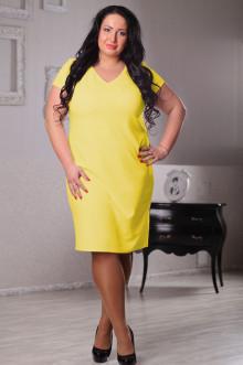 Платье 043503 ЛаТэ (Желтый)