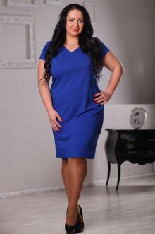 Платье 043501 ЛаТэ (Васильковый)