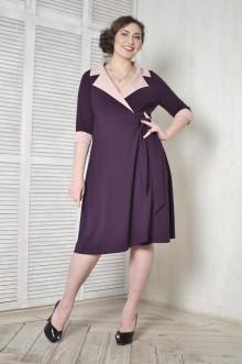 Платье 093303 ЛаТэ (Бургунди)