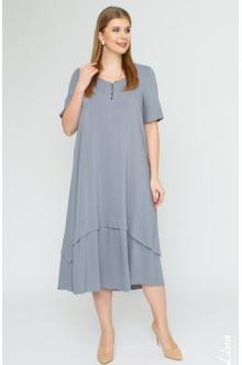 """Платье """"Джоли-2"""" Лина (Серый)"""