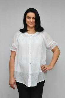 """Блуза """"Олси"""" 1210003.2 ОЛСИ (Белый)"""